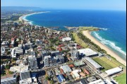 Aerial view of Wollongong City