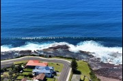 Aerial view of Barrack Point, Shellharbour