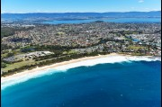 Aerial view of Shellharbour beach