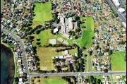 Aerial view of Oak Flats high and Balarang primary school