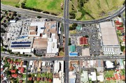 Aerial view of Warrawong Plaza, shopping centre