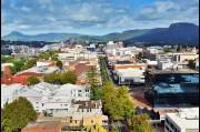 Aerial view of Crown street, Wollongong