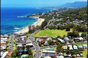 Aerial view of Coledale in the Northern Illawarra