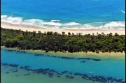 Aerial view the Minnamurra River