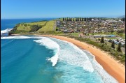 Aerial view of Gerringong beach
