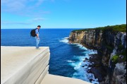 At Wedding Cake Rock, Royal National Park