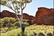 At Kings Canyon, Northern Territory