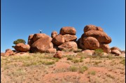At the Devils Marbles, Northern Territory