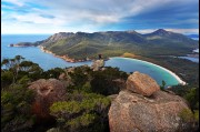 On Mount Amos, Wineglass Bay, Tasmania