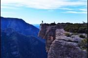 At Hanging Rock, Kanangra Boyd National park