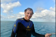 At the Great Barrier Reef, North Queensland