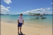 On Whitsunday's Beach, North Queensland