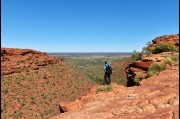 At Kings Canyon, Northern Territory
