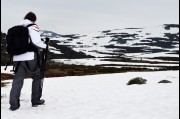On Mount Kosciusko, Snowy Mountains