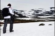 On Mount Kosciusko, Snowy Mountains