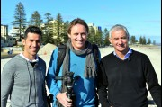In Adelaide with Liverpool FC legends: Ian Rush and Luis Garcia