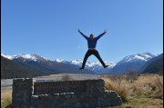 At Arthur's Pass, New Zealand