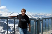 At Mount Titlis, Swiss Alps