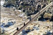 At Cateract Gorge, Launceston, Tasmania