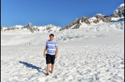 On Fox Glacier, New Zealand