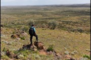 Overlooking the plains North West of Broken Hill