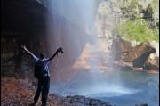 At the base of Gerringong Falls