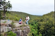 Abseiling at Kelly's Falls, New South Wales