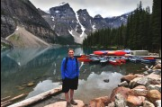 At Moraine Lake, Canada