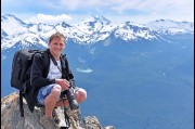 On top of Whistler Mountain, Whistler Blackcomb, Canada