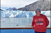 At Glacier Bay, South East Alaska