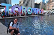 Out photographing Toronto in Canada