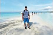 At Sumilion Island, Philippines