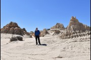 At the Walls of China, Mungo National Park NSW