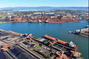 The Port Kembla Steel Works