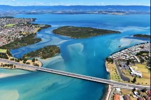Windang Bridge, Lake Illawarra NSW