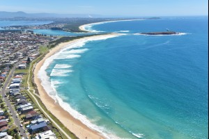Warilla Beach and Windang Island