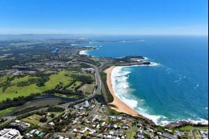Bombo Beach Coastline