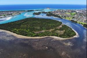 Bevans Island, Lake Illawarra