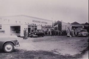 Henson's Service Station, Corrimal