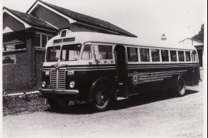 Henson's Bus at Corrimal Depot