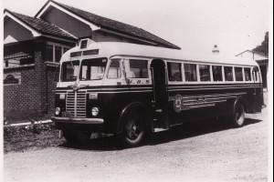 Henson's Bus at Corrimal Depot