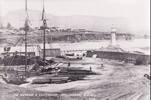 Wollongong Harbour and Lighthouse