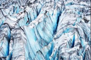 Frozen Crevasse