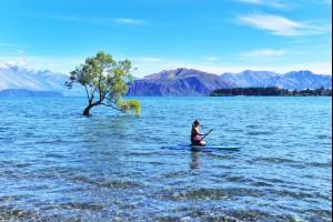 On Lake Wanaka
