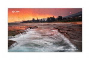 126 Piece Little Austinmer Beach Jigsaw Puzzle