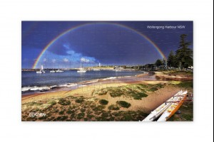 126 Piece Wollongong Harbour Jigsaw Puzzle