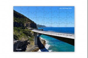 80 Piece Sea Cliff Bridge Jig Saw Puzzle