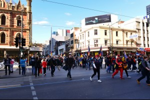 The Adelaide March