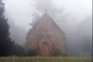 A Church in the Fog