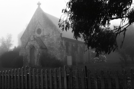 An Old Country Church